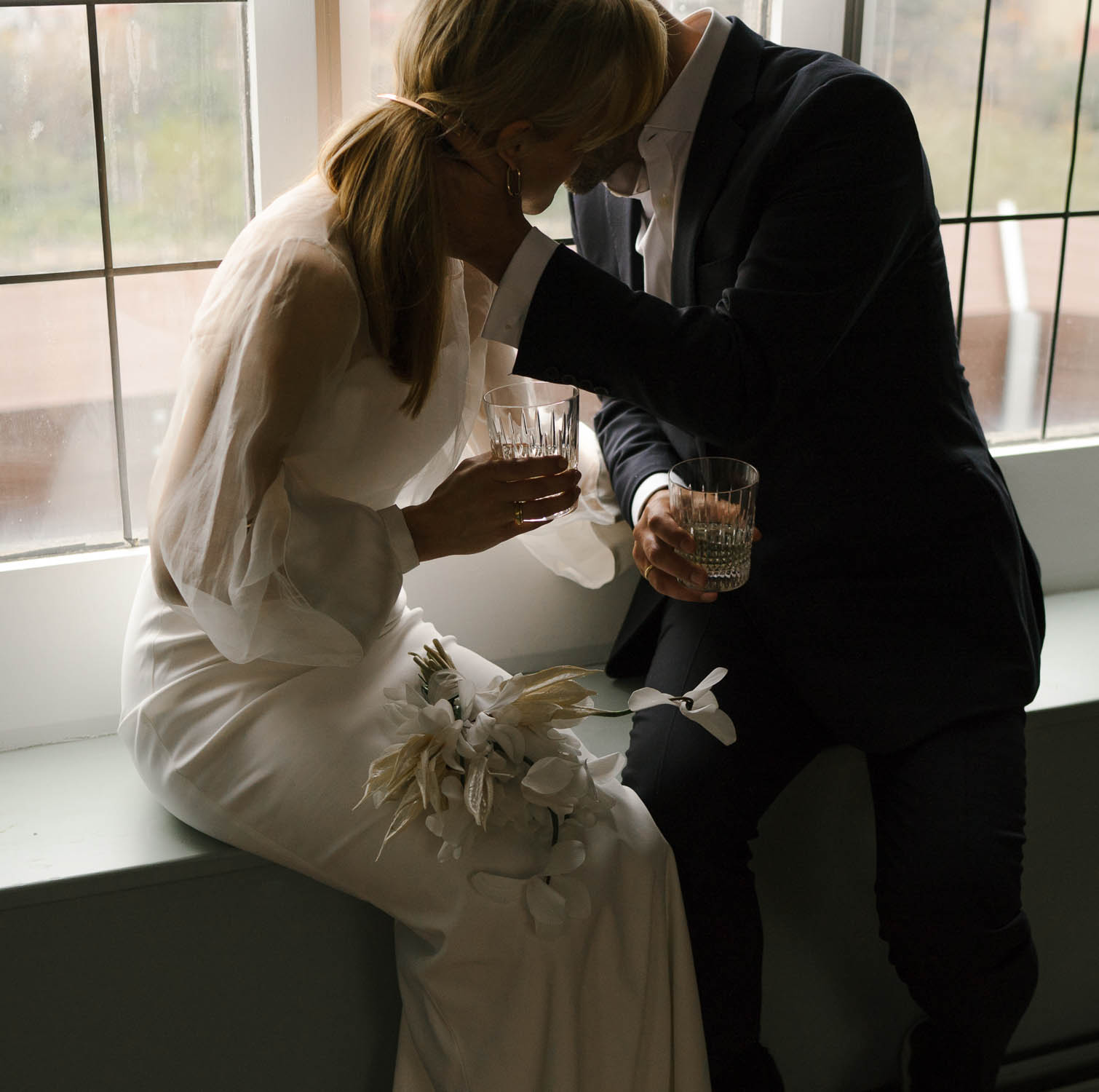 Editorial wedding photographer in London