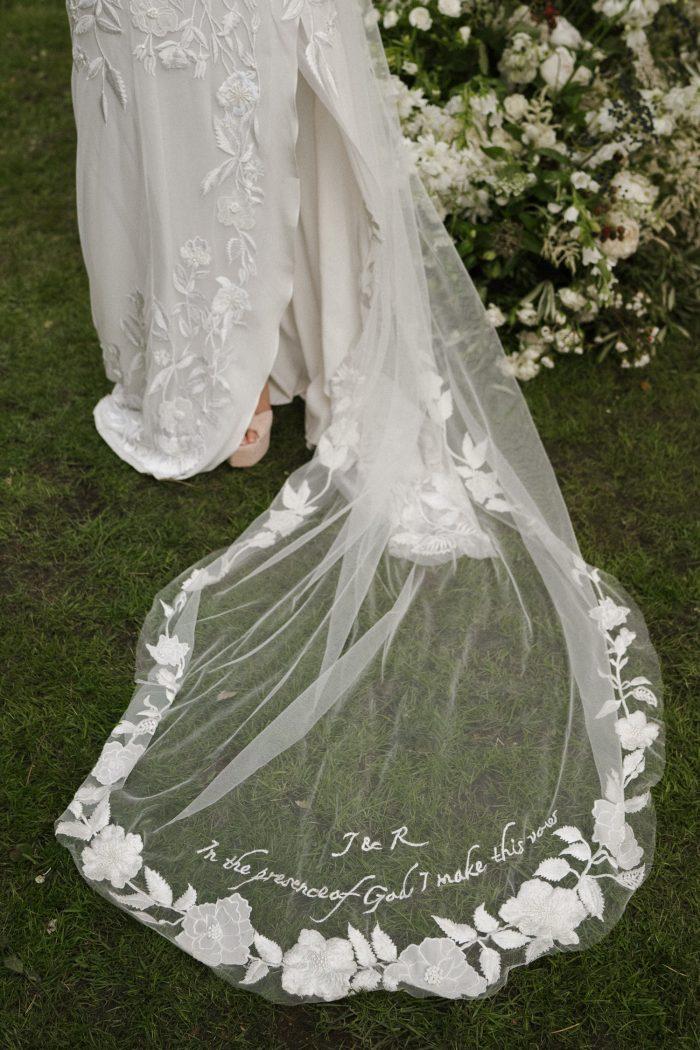 hermione de paula wedding veil