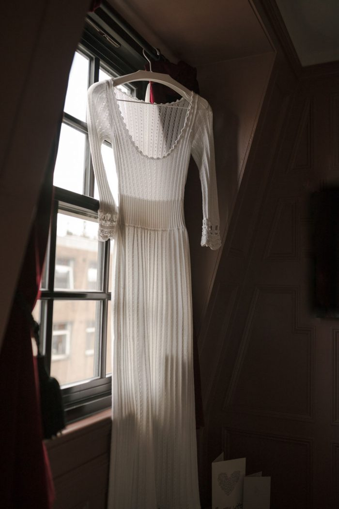Vintage wedding dress in London