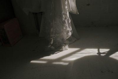 Rime Arodaky dress at JJ wimborne wedding