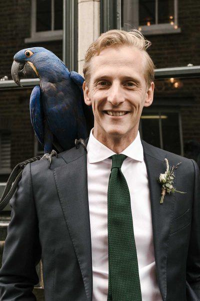 London groom in Shoreditch
