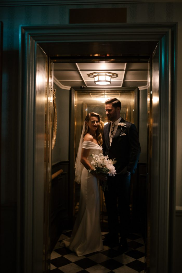 Luxury wedding photography at the Ned Hotel in London