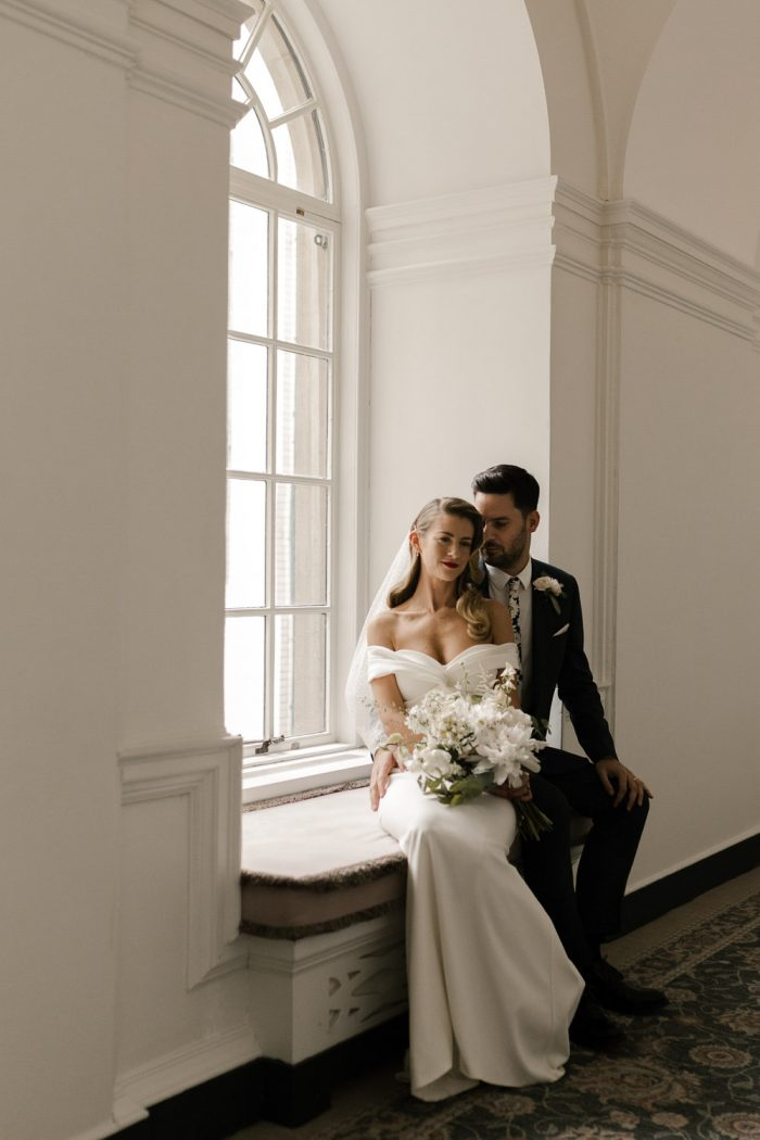 cinematic wedding photography at The Ned in London