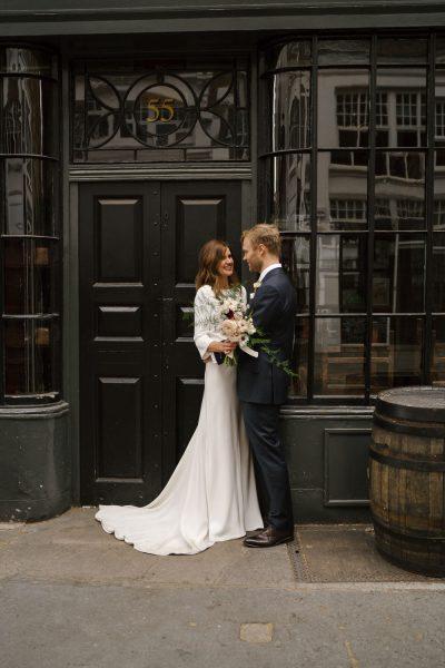Wedding at St Johns Restaurant in London