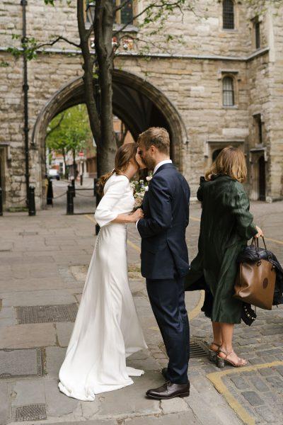 Museum of St John wedding ceremony in London