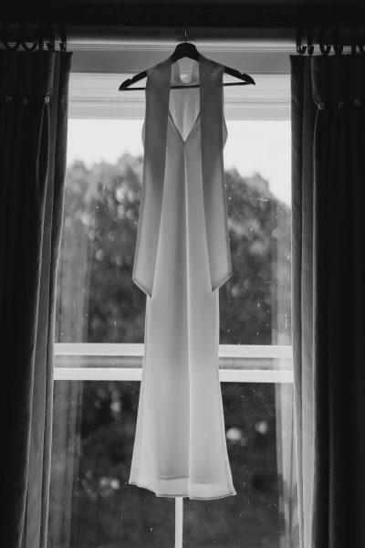 Galvan wedding dress
