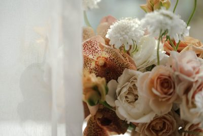 Modern wedding flowers by still life flowers