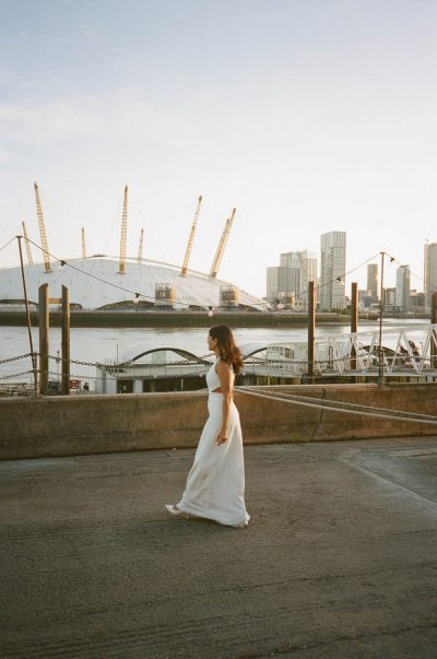 Modern elegant wedding in east London