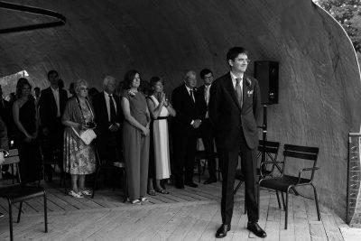 Radić Pavilion wedding at Hauser & Wirth